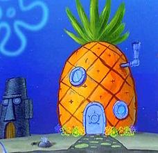 Spongebob pineapple house clipart - ClipartFest